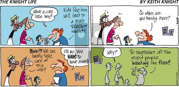 The Knight Life on Sunday February 3, 2013 Comic Strip