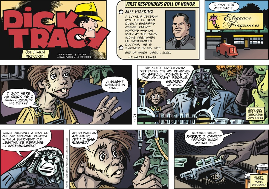 Dick Tracy by Joe Staton and Mike Curtis on Sun, 01 Nov 2020