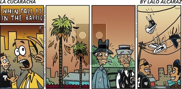 La Cucaracha on October 21, 2018 Comic Strip