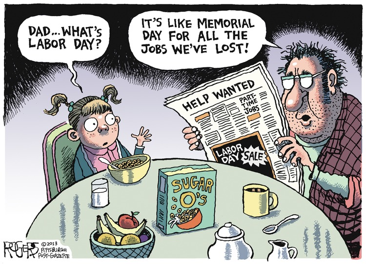 Rob Rogers for Sep 1, 2013 Comic Strip