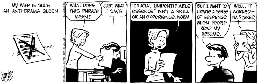 The Norm Classics Comic Strip for January 18, 2019