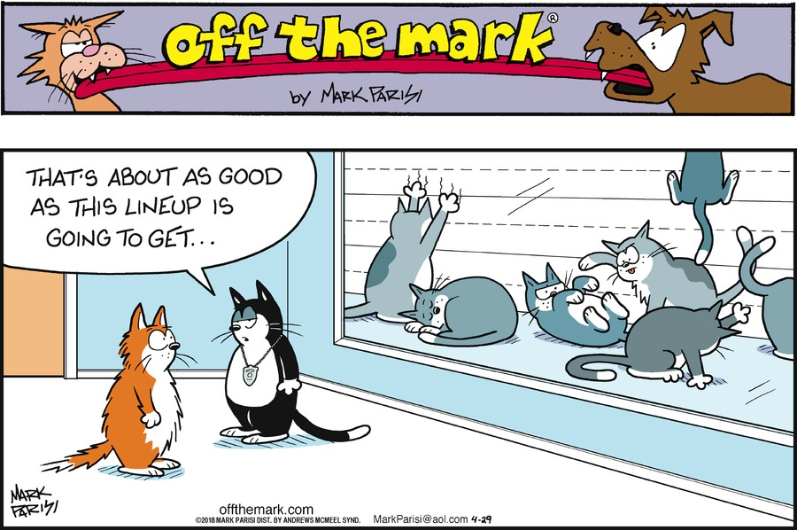 Off the Mark for Apr 29, 2018 Comic Strip