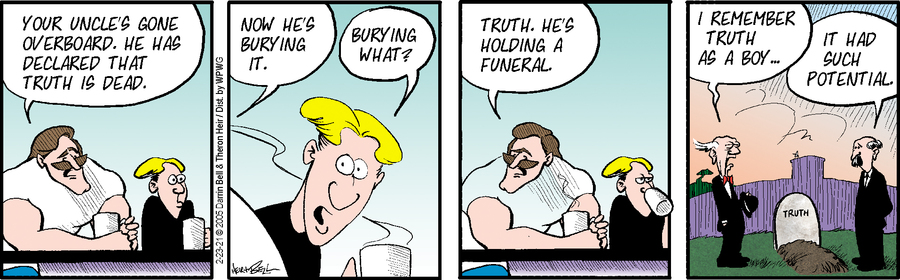 Rudy Park Comic Strip for February 23, 2021