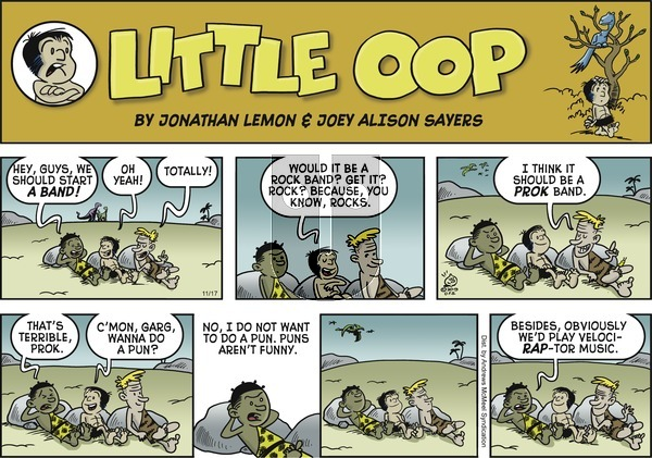 Alley Oop - Sunday November 17, 2019 Comic Strip