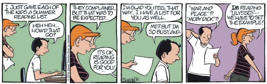 Ben Comic Strip for July 18, 2018