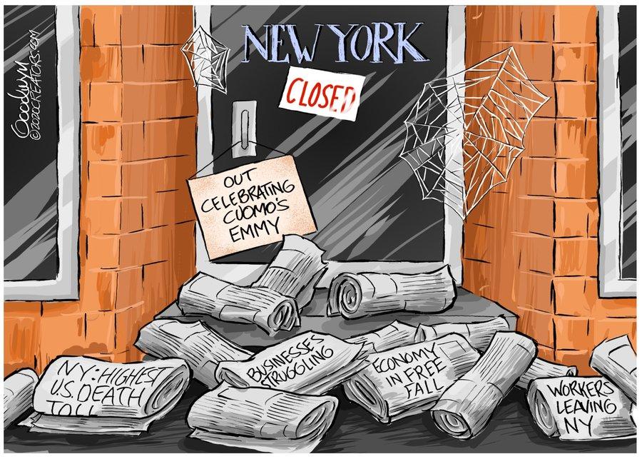 Al Goodwyn Editorial Cartoons Comic Strip for November 23, 2020