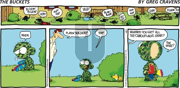 The Buckets on Sunday July 8, 2012 Comic Strip