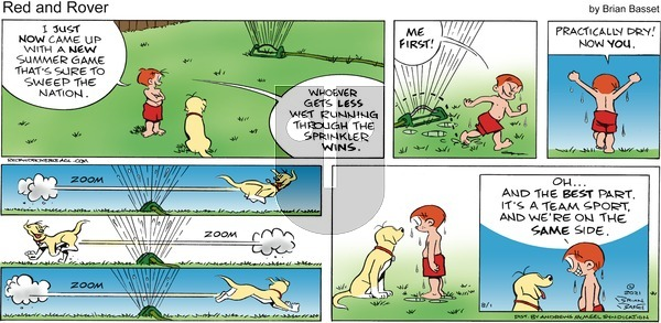 Red and Rover on Sunday August 1, 2021 Comic Strip