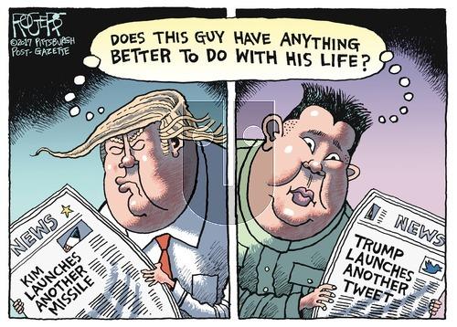 Rob Rogers on Sunday July 9, 2017 Comic Strip