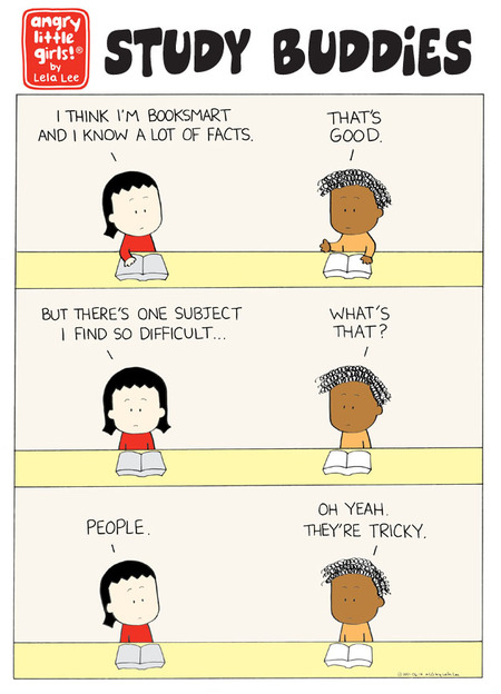 Angry Little Girls Comic Strip for June 14, 2021