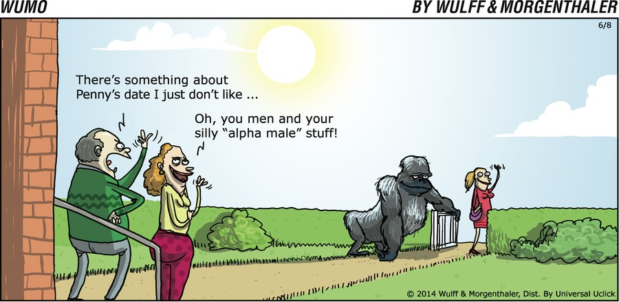 WuMo for Jun 8, 2014 Comic Strip