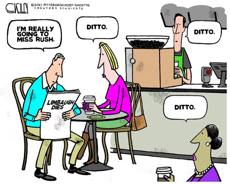 Steve Kelley Comic Strip for February 19, 2021