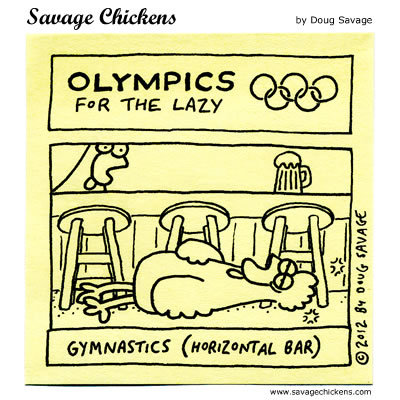 Olympics for the lazy: Gymnastics (horizontal bar)