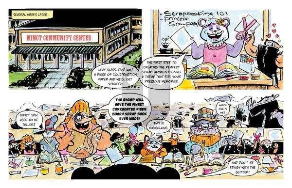 American Chop Suey on Thursday March 25, 2021 Comic Strip