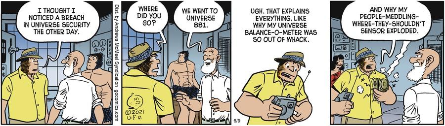 Alley Oop Comic Strip for June 09, 2021