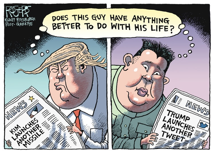 Rob Rogers Comic Strip for July 09, 2017