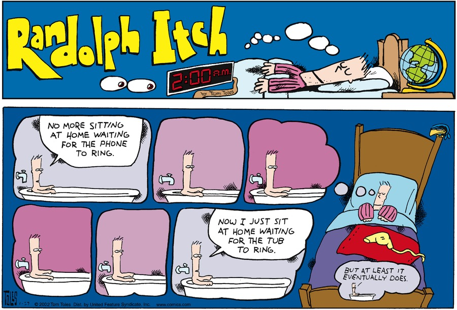 Randolph Itch, 2 a.m. Comic Strip for September 13, 2020