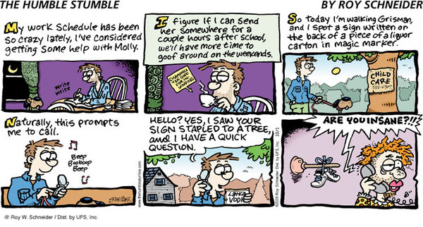 The Humble Stumble for Mar 3, 2013 Comic Strip