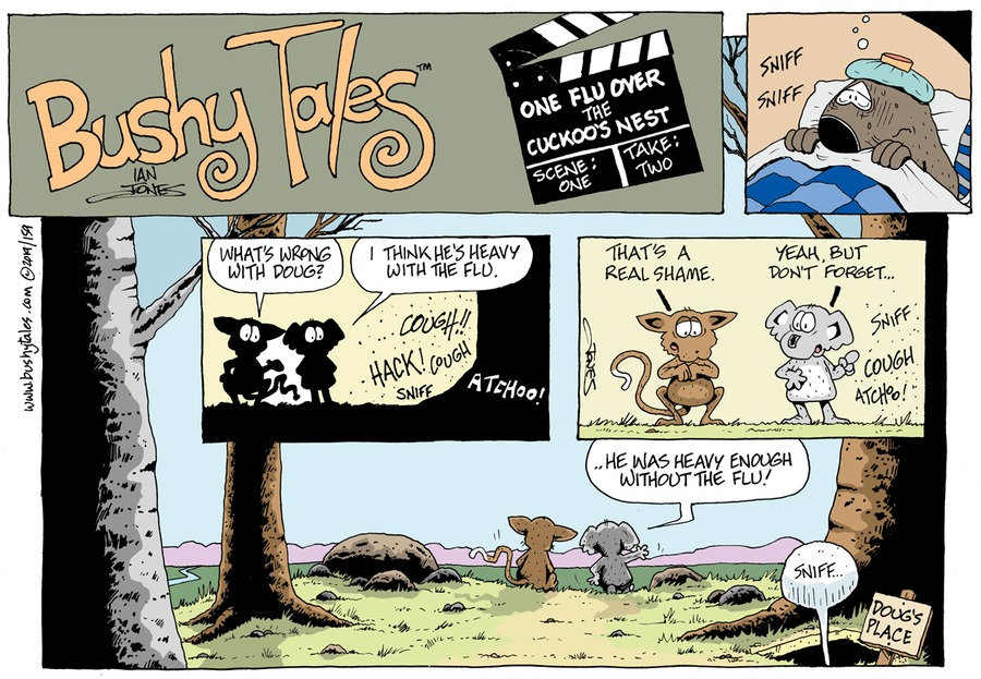 Bushy Tales Comic Strip for May 12, 2019