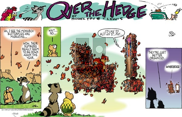 Over the Hedge on Sunday October 20, 2019 Comic Strip