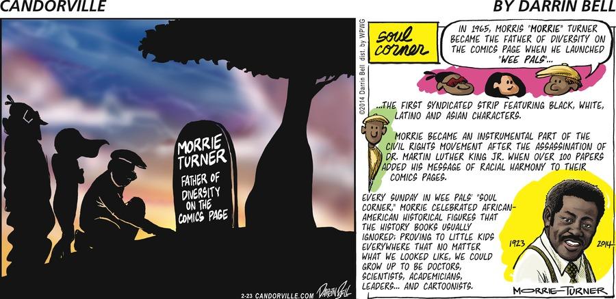 Candorville for Feb 23, 2014 Comic Strip