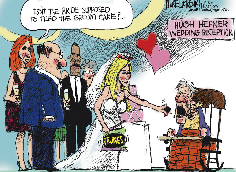 Mike Luckovich for Dec 5, 2012 Comic Strip