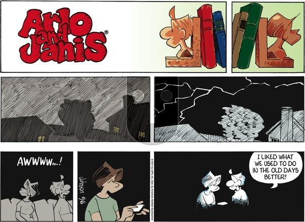 Arlo and Janis - Sunday June 6, 2021 Comic Strip