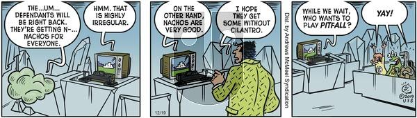 Alley Oop - Thursday December 19, 2019 Comic Strip