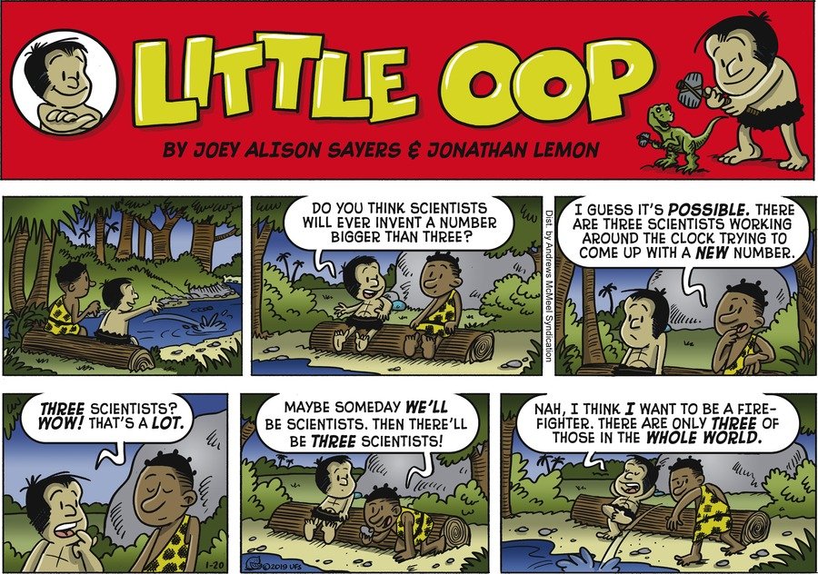 Alley Oop Comic Strip for January 20, 2019