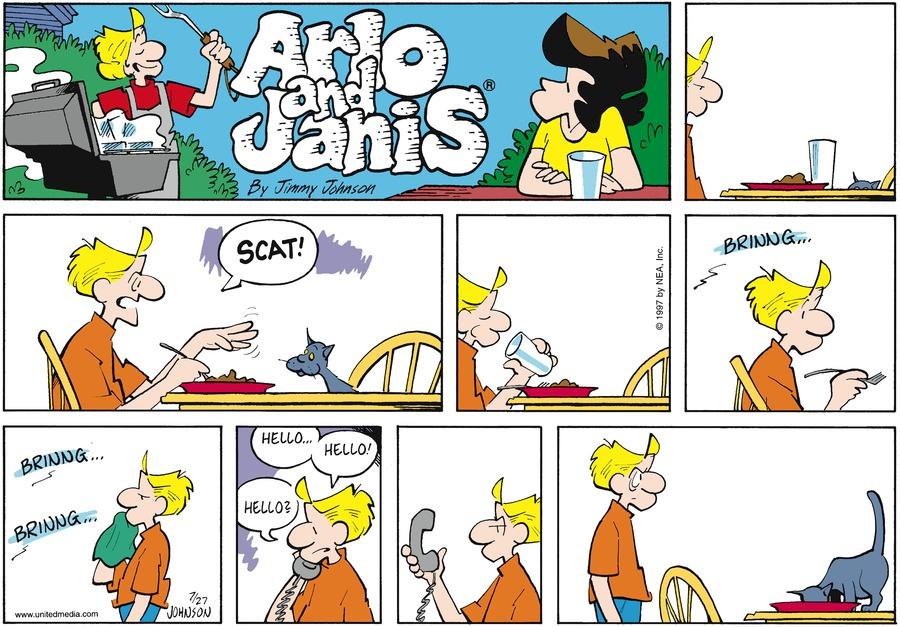 Arlo and Janis for Jul 27, 1997 Comic Strip