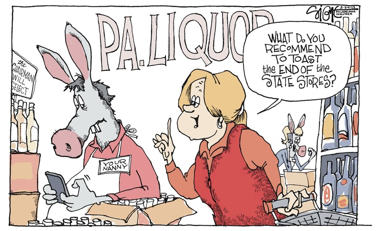 Signe Wilkinson for Mar 24, 2013 Comic Strip