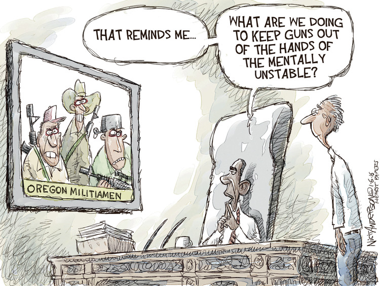 Nick Anderson Comic Strip for January 06, 2016