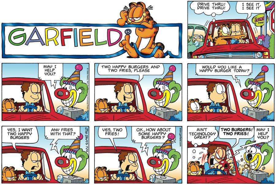 Garfield Comic Strip for July 26, 1998