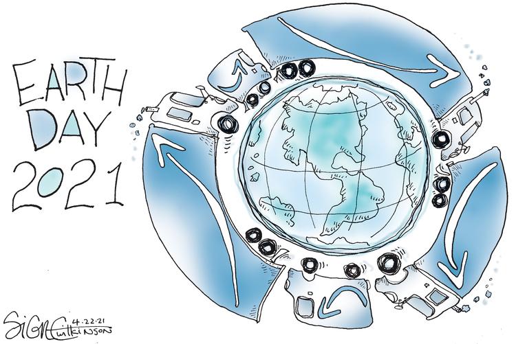 Signe Wilkinson Comic Strip for April 22, 2021