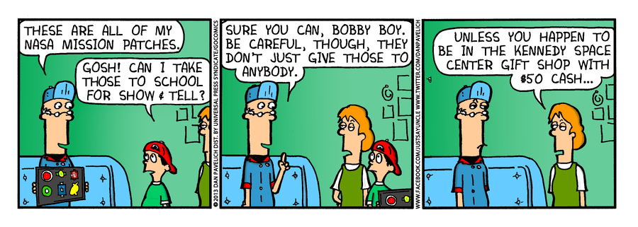 Just Say Uncle for Sep 4, 2013 Comic Strip