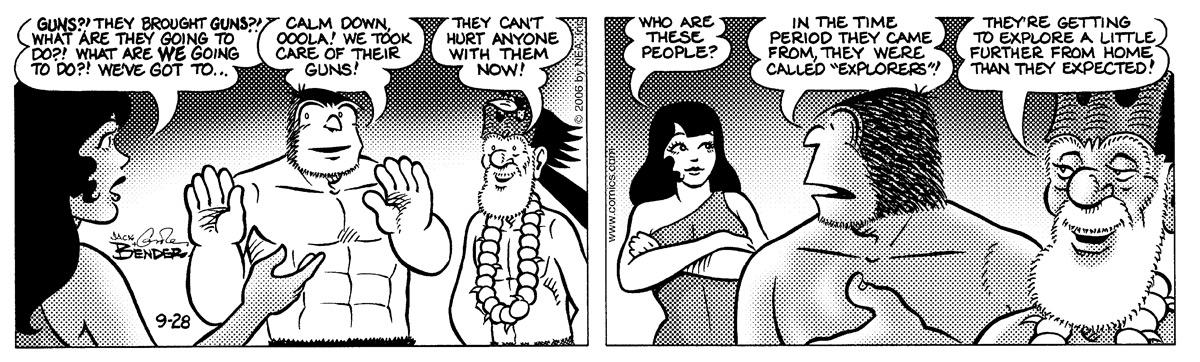 Alley Oop for Sep 28, 2006 Comic Strip