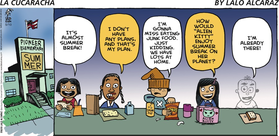 La Cucaracha Comic Strip for May 10, 2015