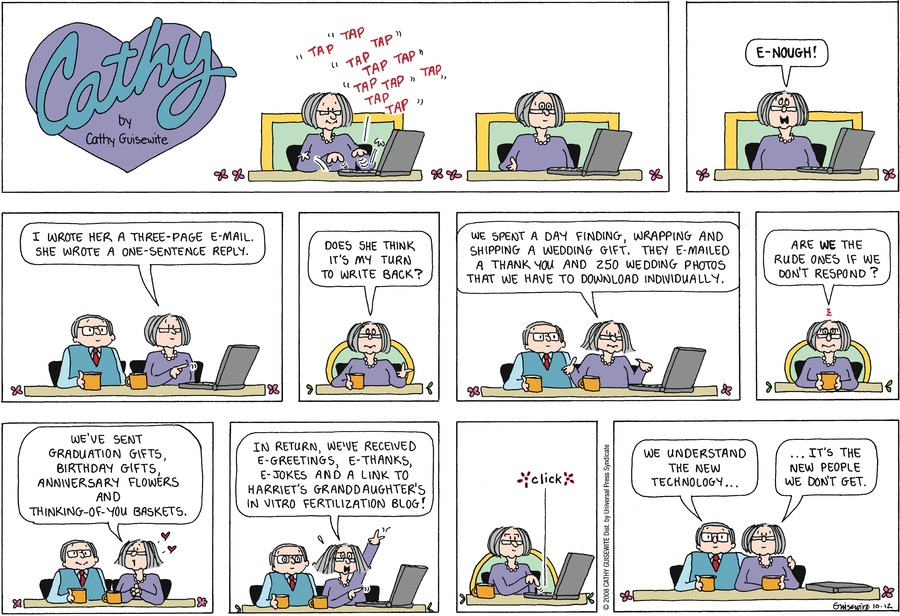 Cathy Comic Strip for October 13, 2019