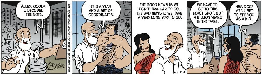 Alley Oop Comic Strip for November 04, 2020