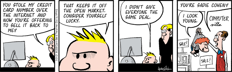 Rudy Park Comic Strip for May 31, 2021