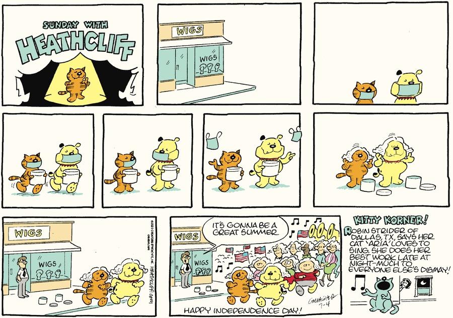 Heathcliff by George Gately on Sun, 04 Jul 2021