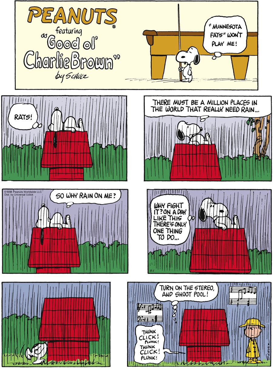 Peanuts Comic Strip for November 01, 2015