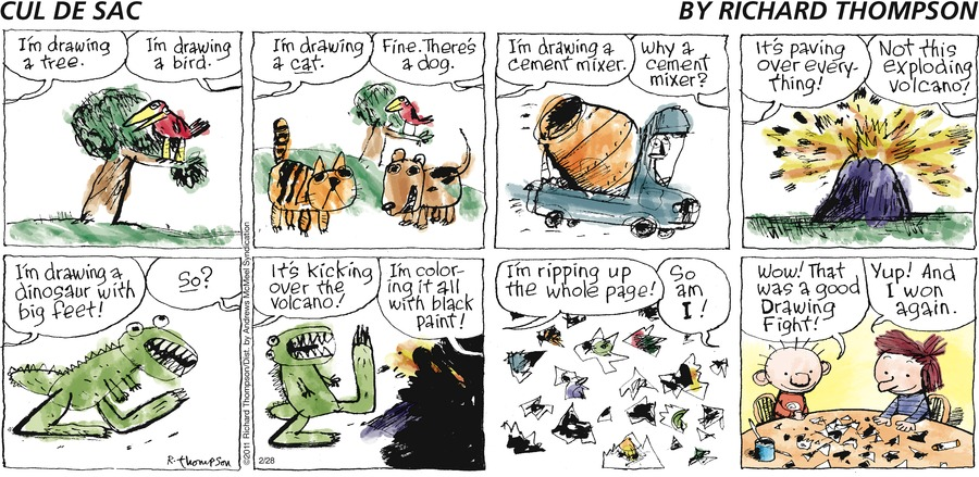 Cul de Sac Comic Strip for February 28, 2021