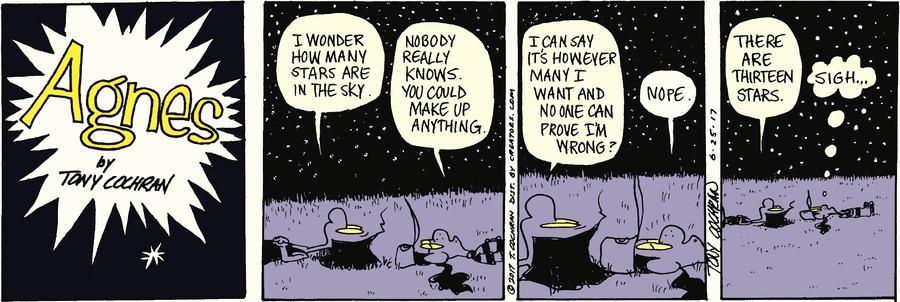 Agnes Comic Strip for June 25, 2017