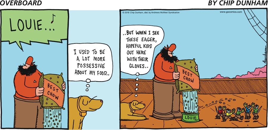 Overboard for Apr 22, 2018 Comic Strip