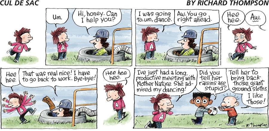 Cul de Sac for Apr 25, 2010 Comic Strip