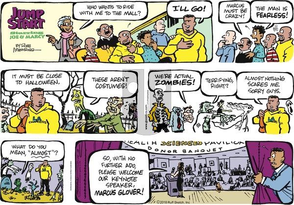 JumpStart on Sunday October 14, 2018 Comic Strip