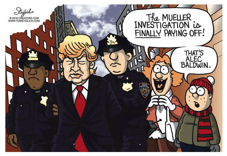 Tom Stiglich Comic Strip for November 05, 2018