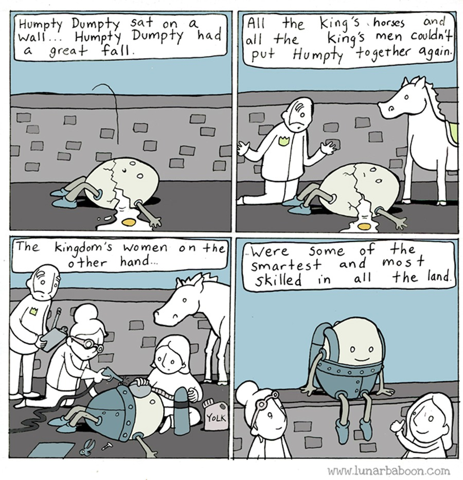 Lunarbaboon Comic Strip for August 25, 2019