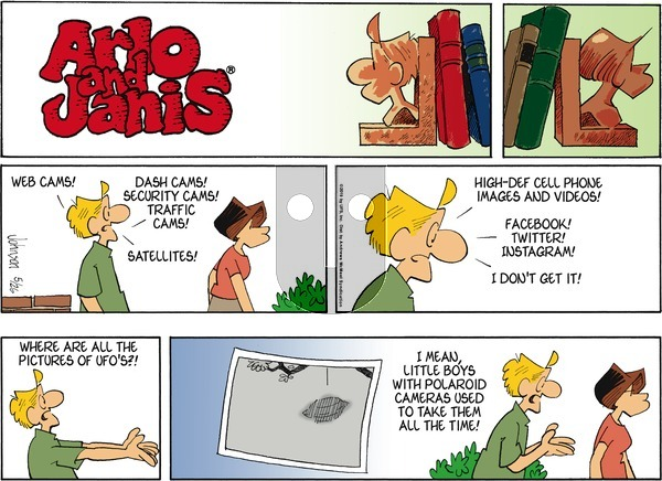 Arlo and Janis on Sunday May 26, 2019 Comic Strip